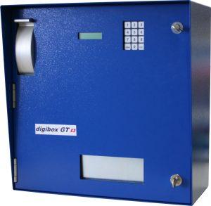 digibox GT Schlüsselausgabesystem für Zimmerkarten und klobige Autoschlüsseln