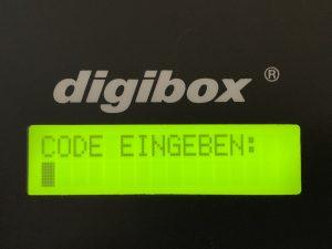digibox Schlüsselkasten :: hier mehrsprachig aktiviert in Deutsche Sprache