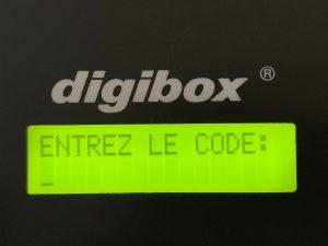 digibox Schlüsselsafe :: hier mehrsprachig aktiviert in Französische Sprache